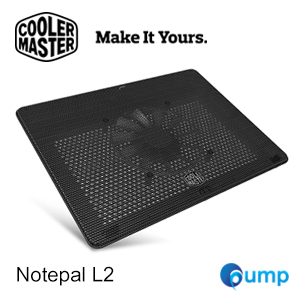 จำหน่าย-ขาย Cooler Master Notepal L2 Laptop Cooler - Black