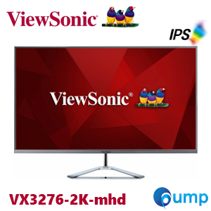 "จำหน่าย-ขาย Viewsonic VX3276-2K-mhd 32"" (31.5"" viewable) WQHD SuperClear® IPS Monitor with a Stylish Ultra-Slim Frameless Design"