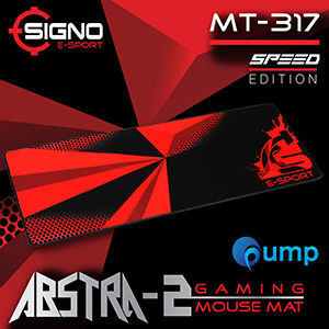 Signo E-Sport ABSTRA-2 MT-317 Gaming Mouse Mat Size XL (Speed)