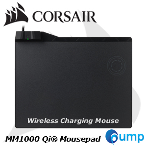 จำหน่าย-ขาย CORSAIR MM1000 Qi® Wireless Charging Mouse Pad