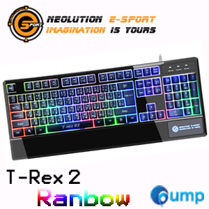 จำหน่าย-ขาย Neolution E-Sport Gaming Keyboard T REX 2 (Rainbow)