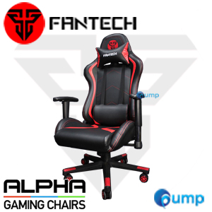 Fantech ALPHA Gaming Chair - Black/Red