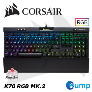 Promotion - Corsair K70 RGB MK.2 Mechanical keyboard [MX RED Switch]