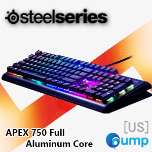 SteelSeries Apex M750 Aluminum Core Mechanical Esports Keyboard - Switch Red QX2 [US]