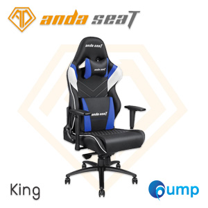 Anda Seat Assassin King Series Gaming Chair - Black / White / Blue