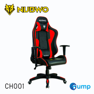 Nubwo CH001 Gaming Chair - ฺBlack / Red