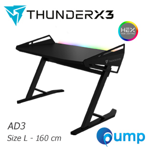 ThunderX3 AD3 Hex Gaming Desk - Size L (160cm)