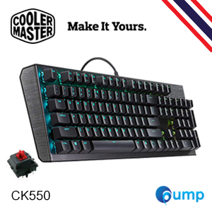 Cooler Master CK550 RGB Gaming Mechanical Keyboard  [Red SW] - แถมฟรี Key Thai