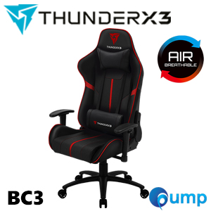 ThunderX3 BC3 Gaming Chair - Black/Red