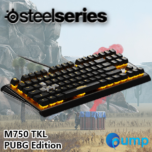 b367d9982ef SteelSeries Apex M750 TKL PUBG Edition Mechanical Gaming Keyboard - Switch  Red QX2 [US]