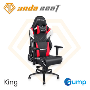 Anda Seat Assassin King Series Gaming Chair - Black / White / Red