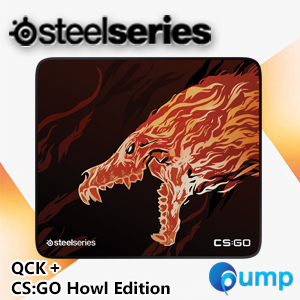 SteelSeries QCK+ CS:GO Howl Edition Gaming Mousepad