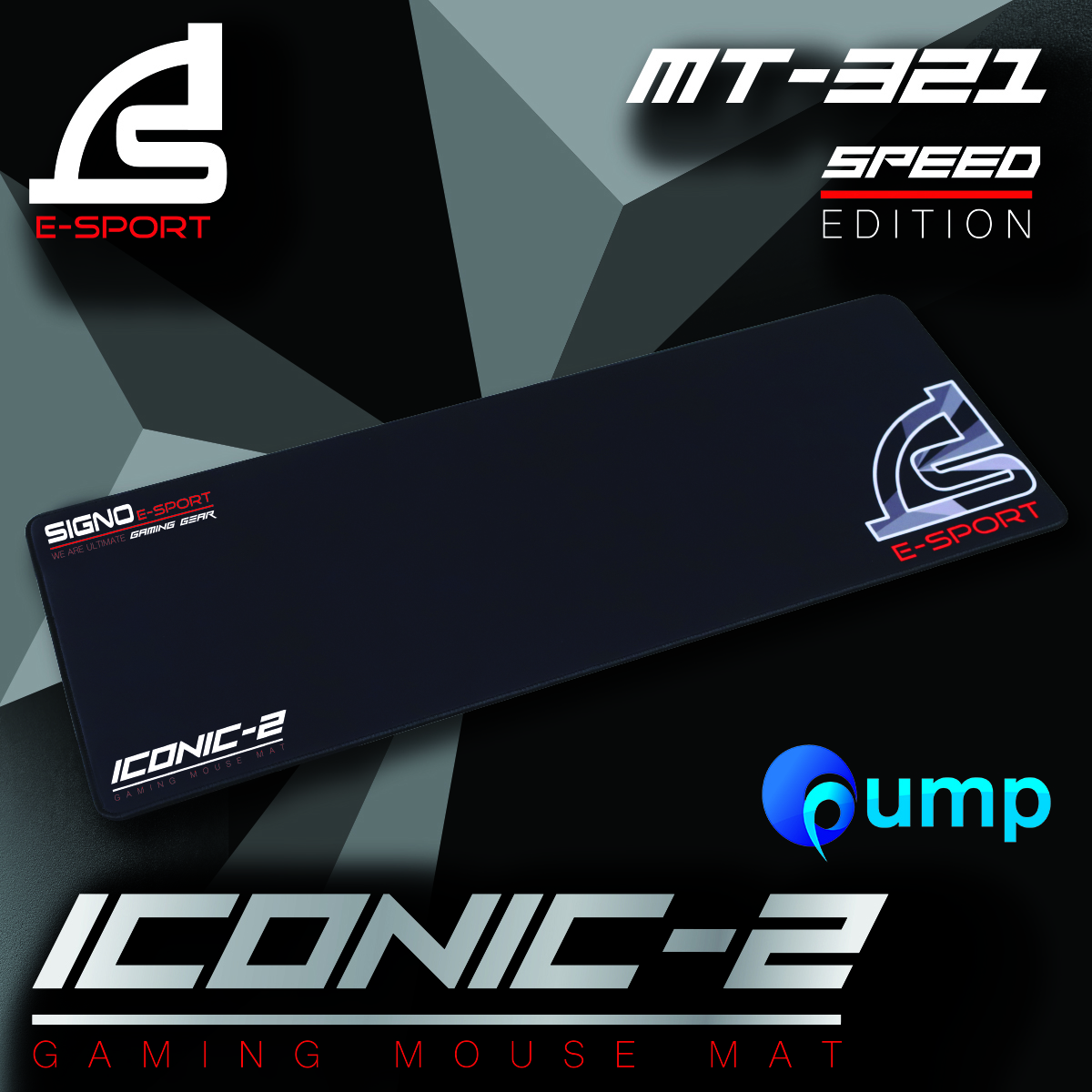 Signo E-Sport MT-321 ICONIC-2 Gaming Mouse Mat