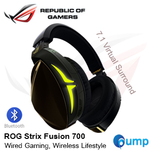 Asus ROG Strix Fusion 700 RGB 7.1 Surround Wired Gaming Headset & Bluetooth Moblie
