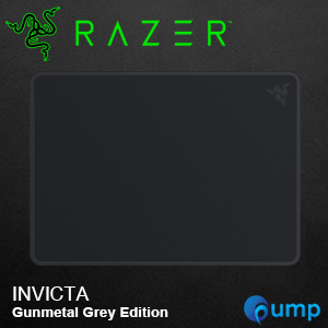 Razer Invicta Gunmetal Gray Gaming Mousepad