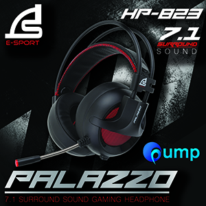 Signo E-Sport HP823 PALAZZO 7.1 Surround Sound Gaming Headset