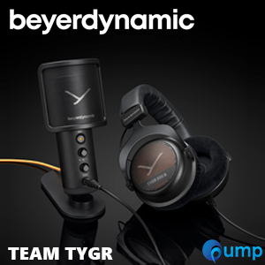 beyerdynamic TEAM TYGR combines headphones and Fox USB Studio Microphone