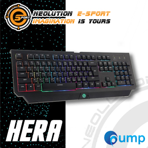 Neolution E-Sport Hera Rainbow Colors Gaming Keyboard (TH)
