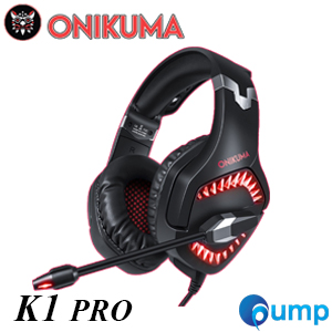 ONIKUMA K1-Pro Stereo Gaming Headset - Red