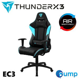ThunderX3 EC3 Gaming Chair - Black/Cyan