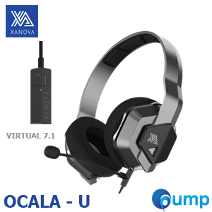 XANOVA OCALA-U 7.1 Surround Sound With USB Sound Card Gaming Headset