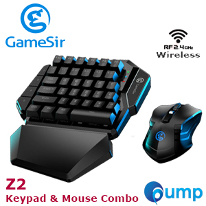 Gamesir Z2 Wireless Keypad & Mouse Combo - Blue SW