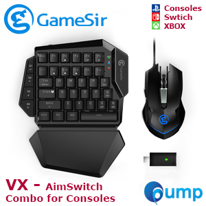 Gamesir VX Wireless Aimswitch Keyboard and Mouse Combo - Blue SW