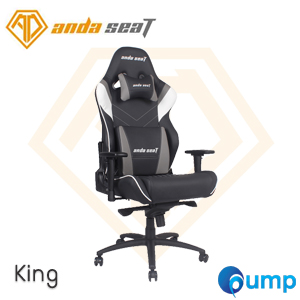 Anda Seat Assassin King Series Gaming Chair - Black / White / Gray