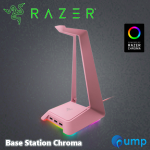 Razer Base Station Chroma - Quartz Edition Gaming Headset Stand