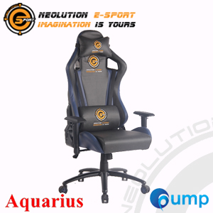 Neolution E-Sport Aquarius Gaming Chair - Blue/Gray