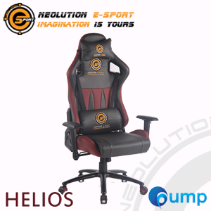 Neolution E-Sport Helios Gaming Chair - Gray/Red