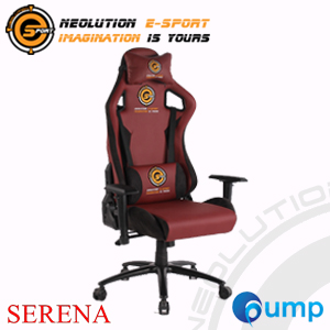 Neolution E-Sport Serena Gaming Chair - Red/Black