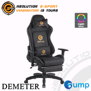 Neolution E-Sport Demeter Light Gaming Chair - Black