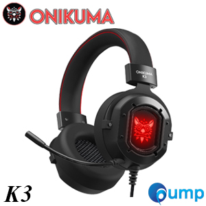 Onikuma K3 RGB Gaming Headset - Black