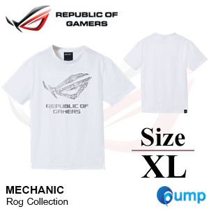 Asus Rog Collection MECHANIC T-Shirt : Size - XL
