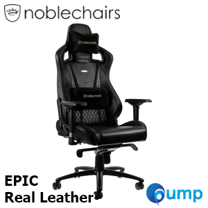 Noblechairs EPIC Real Leather - Black