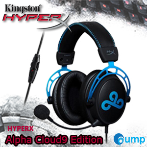 Hyperx Cloud Alpha Cloud9 Edition Gaming Headset