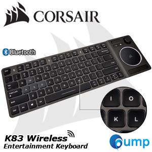 """À¸'าย Corsair K83 Wireless Entertainment Touch Pad Modern Joystick Keyboard Th À¸£à¸²à¸""""า 3 990 00 À¸šà¸²à¸—"""