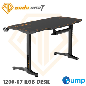 Anda Seat 1200-07 Gaming Desk - Black