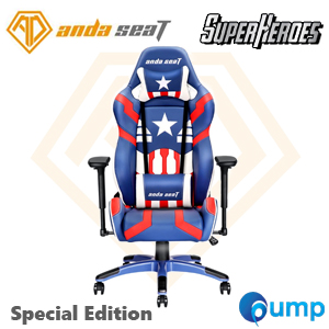 Anda Seat Special Edition Large Gaming Chair (Blue/Red/White)