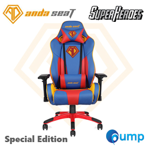 Anda Seat Special Edition Large Gaming Chair (Blue/Red/Yellow)