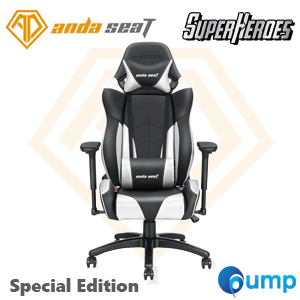Anda Seat Special Edition Large Gaming Chair (Black/Silver)