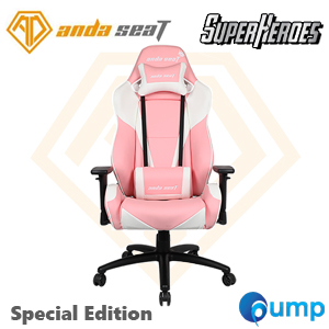 Anda Seat Special Edition Large Gaming Chair (Pretty Pink White)