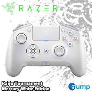 ขาย Razer Raiju Tournament Mercury White Edition Joystick