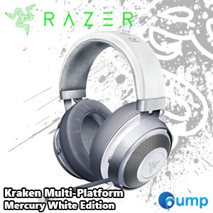Razer Kraken Multi-Platform – Mercury White Edition Gaming Headset