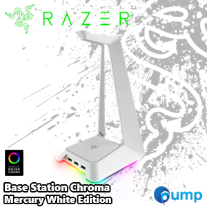 Razer Base Station Chroma Mercury White Headset Stand