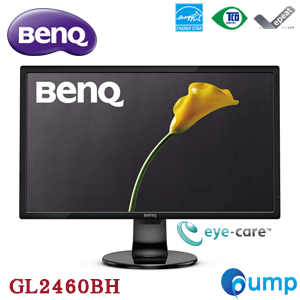 BenQ GL2460BH 75Hz 24 inch FHD 1080p Gaming Monitor - Eye Care Technology