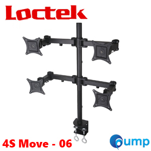 Vivo Quad LCD Monitor Desk Mount Stand (4S Move - 06) (ขาตั้ง4จอ)