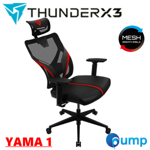 ThunderX3 YAMA1 ERGONOMIC Gaming Chair - Black/Red