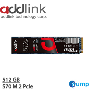 SSD ADDLINK S70 512GB M.2 Pcle : AD512GBS70M2P